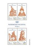 Spanien - Klassiske ure - Postfrisk miniark