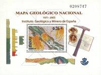 Spanien - Geolog - Postfrisk miniark