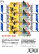 Netherlands - EUROPA 2021 Endangered National Wildlife - Mint sheetlet