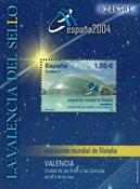 Spanien - Expo Valencia 2004 - Postfrisk miniark
