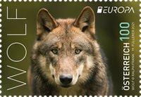 Østrig - EUROPA 2021 Truet nationalt dyreliv - Postfrisk frimærke