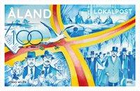 Åland - Le centenaire de l'indépendance d'Åland - Timbre neuf
