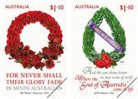 Australia - Lest we forget - Mint set 2v