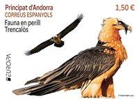 Spansk Andorra - EUROPA 2021 Truet nationalt dyreliv - Postfrisk frimærke