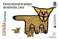 Spanien - EUROPA 2021 Truet nationalt dyreliv - Postfrisk frimærke