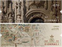 Portugal - Kong Manuel I - Postfrisk sæt 2v