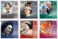 Jersey - Queen Elizabeth II 95 years - Mint set 6v