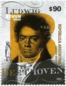 Argentina 2020 - Ludwig van Beethoven 250 år - Postfrisk frimærke