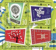 Cypern 2006 - EUROPA CEPT 50 år - Postfrisk miniark