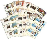 Spanien - 14 frankeringsmærker - Postfrisk