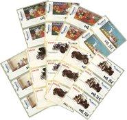 Spanien - 9 frankeringsmærker 2003 - Postfrisk
