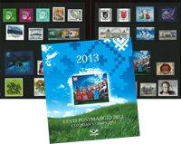 Estland - Årsmappe 2013 - Stemplet