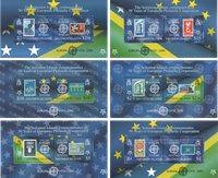 Solomon Øerne - EUROPA CEPT 50 år - Postfrisk sæt á 6 miniark