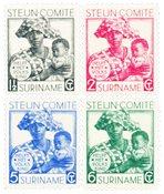Suriname 1931 - NVPH 146/149 - Postituore