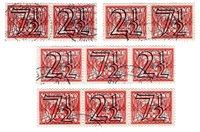 Hollanti 1940 - NVPH 356 a/d - Leimattu
