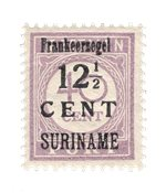 Suriname 1926 - NVPH 117b - Postituore