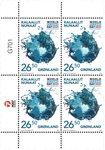 FN's verdens havdag - Postfrisk - 4-blok øvre marginal