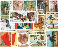 Burkina Faso - 75 forskellige - Stemplet