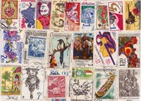 Czechoslovakia - 600 different stamps