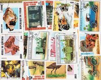 Chad - 111 different stamps