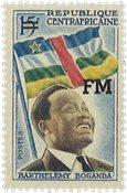 Den centralafrikanske republik - YT FM1 - Postfrisk