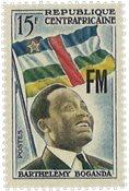 Den centralafrikanske republik - YT FM2 - Postfrisk