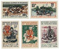 Mauretanien - YT 154A-B - Postfrisk