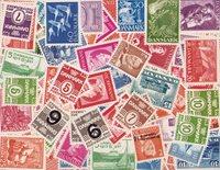 Denemarken - Dubbelenpartij gegraveerde postzegels