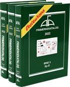 AFA - Vesteuropa 2022 - Frimærkekatalog bind 1-3