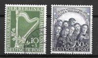 Berliini 1950 - AFA 72-73 - Leimattu