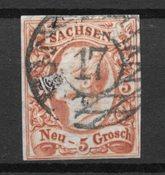 Antichi Stati 1855 - AFA 12b - timbrato