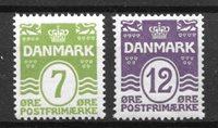 Danimarca - AFA 167-168 - nuovo