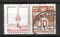 Danimarca - adver. 43 - timbrato