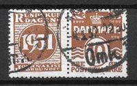 Danimarca - adver. 47 - timbrato