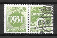 Danimarca - adver. 48 - timbrato
