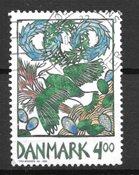 Danimarca - AFA 1204x - timbrato