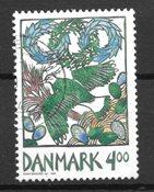 Danimarca - AFA 1204y - timbrato