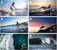 Jersey - Surfing - Postfrisk sæt 6v