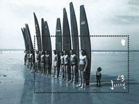 Jersey - Jersey Surfing - Postfrisk miniark