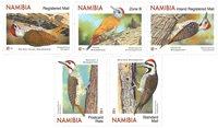 Namibia - Spætter - Postfrisk sæt 5v