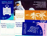 Marshalløerne - Hæfter - Frimærkepakke - Postfrisk