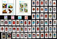 Europe issues - Stamp packet - Mint
