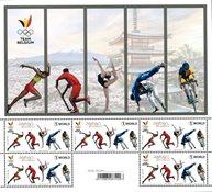 Belgien - Olympiske lege Tokyo 2020 - Postfrisk miniark
