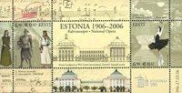 Estland - Nationaloperaen - Postfrisk miniark