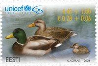 Estland - 60-året for Unicef - Postfrisk frimærke