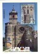 Spanien - Kloster Carracedo - Stemplet miniark