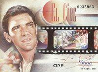 Spanien - Antonio Banderas - Postfrisk miniark