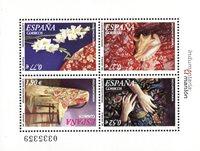 Spanien - Sjal El Manton - Postfrisk miniark