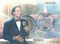 Spanien - J.Iglesias - Postfrisk miniark