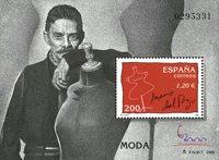 Spanien - Jesus del Pozo - Postfrisk miniark